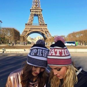 VS PINK NATION BEANIE